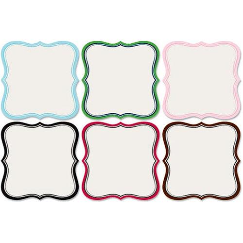 Jenni Bowlin Studio - Mini Die Cut Label Papers - 4 x 4