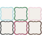 Jenni Bowlin Studio - Mini Die Cut Label Papers - 4 x 4