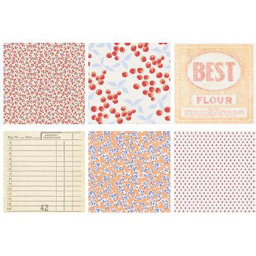 Jenni Bowlin Studio - The Farmer's Wife Collection - Mini 4 x 4 Paper Sets, CLEARANCE