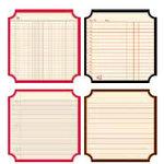 Jenni Bowlin Studio - Front Porch Collection - Mini 4 x 4 Die Cut Classic Label Paper Set