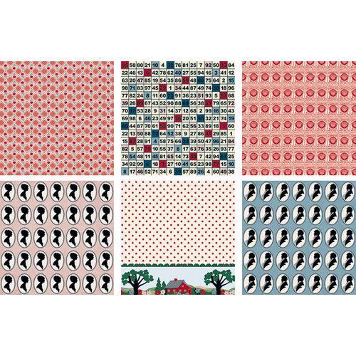 Jenni Bowlin Studio - Be Our Guest Collection - Mini 4 x 4 Paper Set