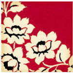 Jenni Bowlin Studio - Vintage Collection - 12 x 12 Patterned Paper - Red Floral