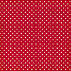 Jenni Bowlin Studio - Vintage Collection - 12 x 12 Patterned Paper - Red Tiny Dot