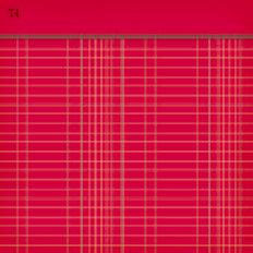Jenni Bowlin Studio - Vintage Collection - 12 x 12 Patterned Paper - Red Ledger