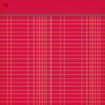 Jenni Bowlin Studio - Vintage Collection - 12 x 12 Patterned Paper - Red Ledger