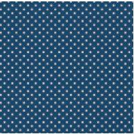 Jenni Bowlin Studio - Trendy Collection - 12 x 12 Patterned Paper - Navy Tiny Dot