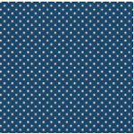 Jenni Bowlin Studio - Trendy Collection - 12 x 12 Patterned Paper - Navy Tiny Dot