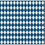Jenni Bowlin Studio - Trendy Collection - 12 x 12 Patterned Paper - Navy Harlequin