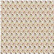 Jenni Bowlin Studio - Front Porch Collection - 12 x 12 Paper - Tweet Tweet, CLEARANCE