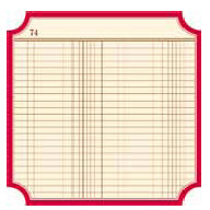 Jenni Bowlin Studio - Front Porch Collection - 12 x 12 Die Cut Paper - Ledger Classic Label