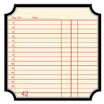 Jenni Bowlin Studio - Front Porch Collection - 12 x 12 Die Cut Paper - Receipt Classic Label, CLEARANCE