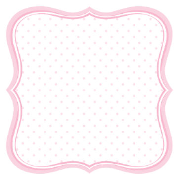 Jenni Bowlin Studio - Baby of Mine Collection - 12 x 12 Die Cut Paper - Baby Girl Label