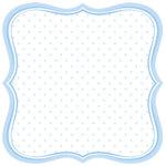 Jenni Bowlin Studio - Baby of Mine Collection - 12 x 12 Die Cut Paper - Baby Boy Label