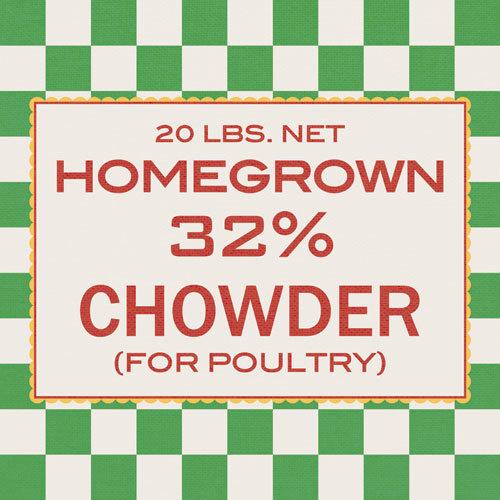 Jenni Bowlin Studio - Homespun Collection - 12 x 12 Paper - Chicken Feed