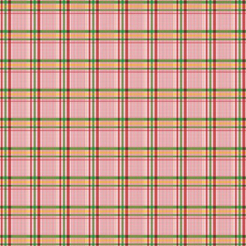 Jenni Bowlin Studio - Homespun Collection - 12 x 12 Paper - Pretty Plaid