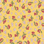 Jenni Bowlin Studio - Homespun Collection - 12 x 12 Paper - Cherry on Top