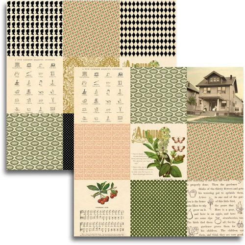 Jenni Bowlin Studio - Haven Collection - 12 x 12 Double Sided Paper - Mini Pattern Sheet