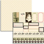 Jenni Bowlin Studio - Magpie Collection - 12 x 12 Double Sided Paper - Accessory Sheet