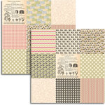 Jenni Bowlin Studio - Magpie Collection - 12 x 12 Double Sided Paper - Mini Pattern Sheet