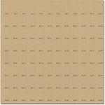 Jenni Bowlin Studio - 12 x 12 Die Cut and Perforated Kraft Paper - Stamp