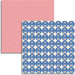 Jenni Bowlin Studio - Wren Collection - 12 x 12 Double Sided Paper - Thumb Tacks