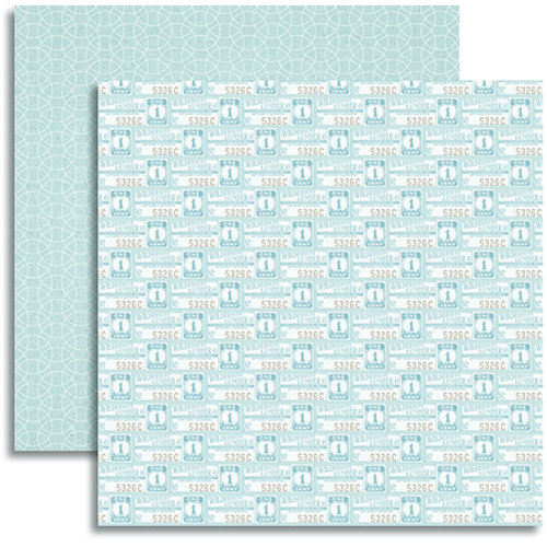 Jenni Bowlin Studio - Modern Mercantile Collection - 12 x 12 Double Sided Paper - Novelties