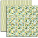 Jenni Bowlin Studio - Modern Mercantile Collection - 12 x 12 Double Sided Paper - Patchwork