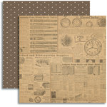 Jenni Bowlin Studio - Modern Mercantile Collection - 12 x 12 Double Sided Paper - Paraphernalia
