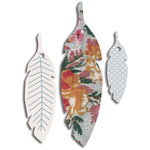 Jenni Bowlin Studio - Printed Feather Tags - Vintage