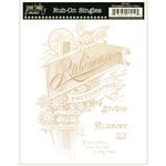 Jenni Bowlin Studio - Rub Ons Single - Photographer Mark - Metallic Gold, CLEARANCE