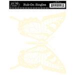 Jenni Bowlin Studio - Rub On Single - Butterfly - Cream, CLEARANCE