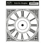 Jenni Bowlin Studio - Rub On Single - Clock