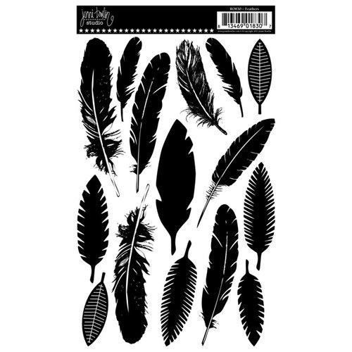 Jenni Bowlin Studio - Rub Ons - Feathers