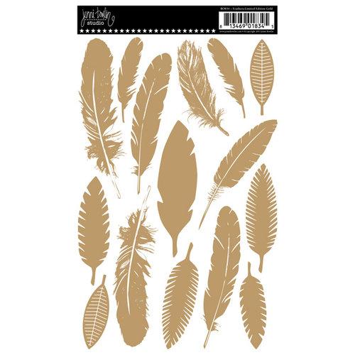 Jenni Bowlin Studio - Rub Ons - Feathers - Limited Edition Gold