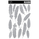 Jenni Bowlin Studio - Rub Ons - Feathers - Limited Edition Silver