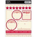 Jenni Bowlin Studio - Apothecary Stickers - Red, CLEARANCE