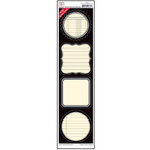Jenni Bowlin Studio - Label Strip Stickers - Black