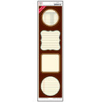 Jenni Bowlin Studio - Label Strip Stickers - Brown