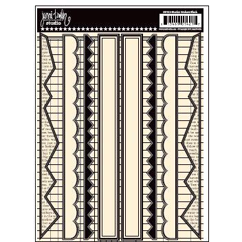 Jenni Bowlin Studio - Cardstock Stickers - Black Border