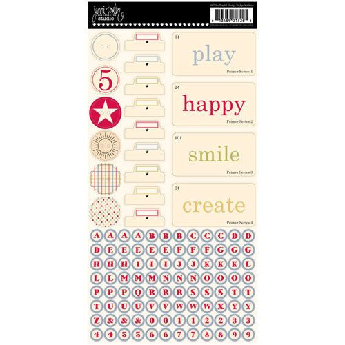 Jenni Bowlin Studio - Cardstock Stickers - Hodge Podge - Playful