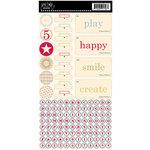 Jenni Bowlin Studio - Cardstock Stickers - Hodge Podge - Playful
