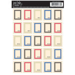 Jenni Bowlin Studio - Cardstock Stickers - Postage Stamp - Labels