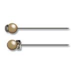 Jenni Bowlin Studio - Pearl and Rhinestone Pins - Antique, CLEARANCE