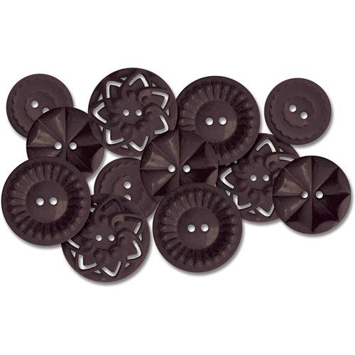 Jenni Bowlin Studio - Vintage Style Buttons - Black