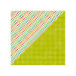 Jillibean Soup - Happy Camper Stew Collection - 12 x 12 Double Sided Paper - Dash of Danger