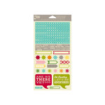 Jillibean Soup - Happy Camper Stew Collection - Cardstock Stickers - Shapes