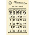 Jillibean Soup - Stampables - Clear Acrylic Stamps - Bingo Card