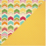 Jillibean Soup - Birthday Bisque Collection - 12 x 12 Double Sided Paper - Smidgen of Sweets
