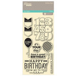 Jillibean Soup - Birthday Bisque Collection - Clear Acrylic Stamps - Large