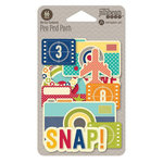 Jillibean Soup - Sightseeing Stew Collection - Pea Pod Parts - Die Cut Cardstock Pieces - Shapes